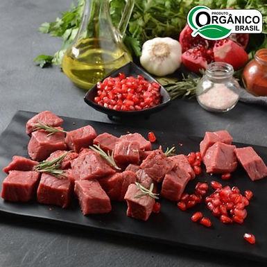 Cubos de Carne para Strogonoff/Picadinho Orgânico aprox 500g