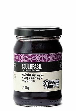 Geleia de Açaí com Cachaça Soul Brasil