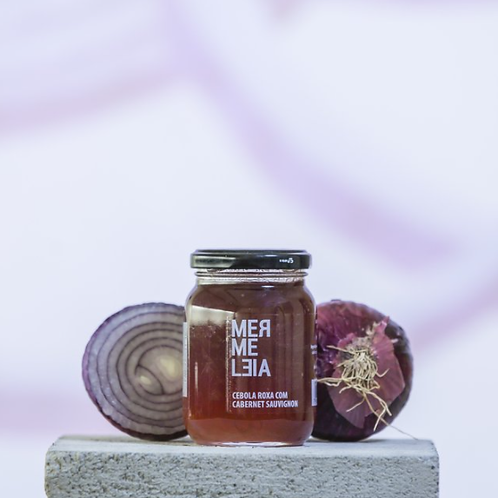 Geleia Cebola Roxa com Cabernet Sauvignon Mermeleia 250g