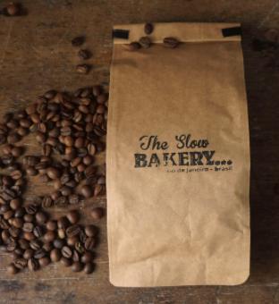 Café Blend Slow EM GRÃOS - The Slow Bakery - 200g