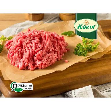 Carne Moída de Patinho Orgânico Resfriado Korin aprox. 1kg