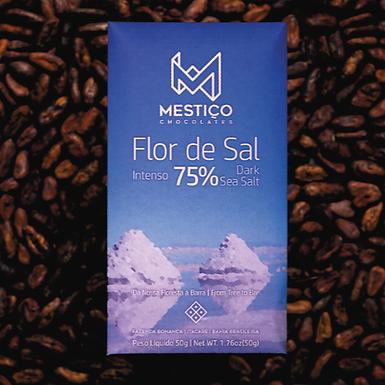 Chocolate 75% Flor de Sal Mestiço