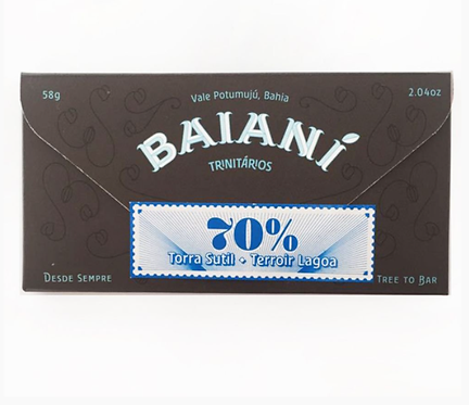 Chocolate 70% Torra Sutil Baianí