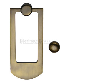 Heritage Brass Contemporary Door Knocker K1320