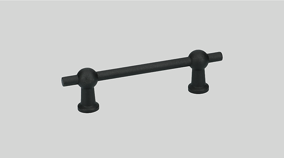 Orno Art. 124-96 Black Cabinet Pull Handle