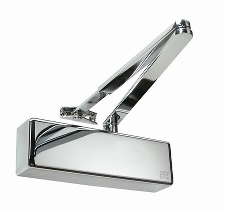 Rutland TS.3204 Contract Overhead Door Closer With Polished Nickel Cover