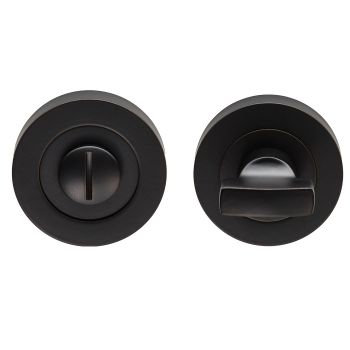 Carlisle Brass EUL004 Matt Black Bathroom Turn & Release