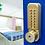 Thumbnail: BL2701 Cu ECP – Antimicrobial copper alloy keypad Digital Door Lock