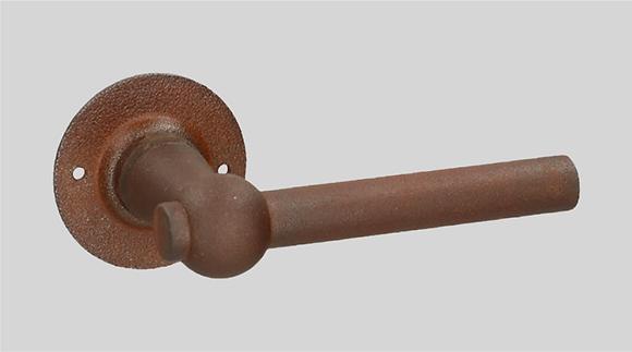 Art. 124 R0-L0 Rusted Iron Lever Door Handles