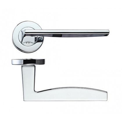 ROSSO MANIGLIE RM030 PAVO LEVER DOOR HANDLES ON ROSE
