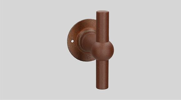 Orno Art. 124 R0-T Rusted Iron Lever Door Handles