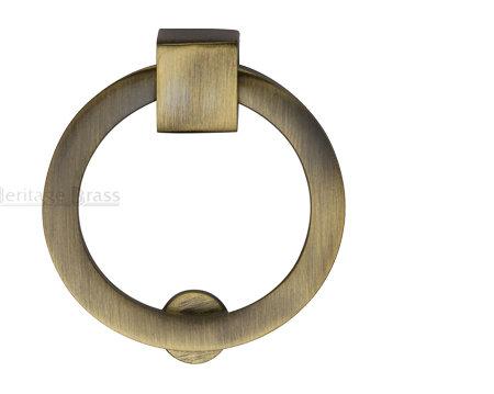 Heritage Brass Round Drop Cabinet Pull V6321