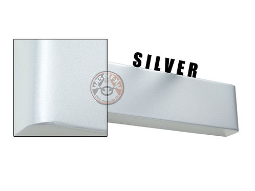 Rutland TS.9204 Silver Radius Cover For Overhead Door Closer | Halesowen