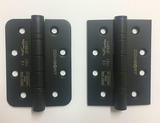 Grade 13 4x3x3mm Black CE Bearing Hinges