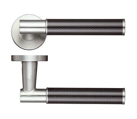Zoo ZPS130 Stainless Steel Eros Lever Door Handles