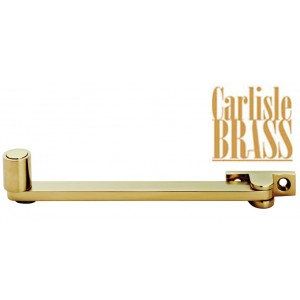 DK8 Polished Brass Roller Arm Stay By Carlisle Brass