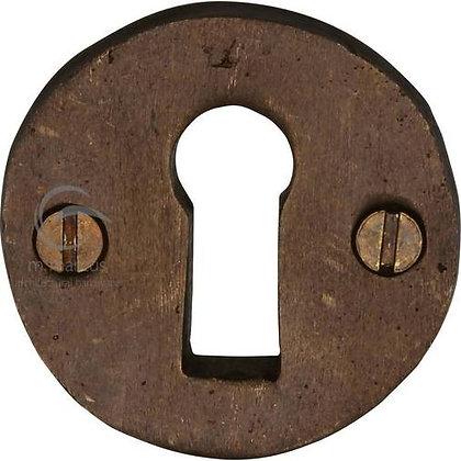 Heritage Brass RBL553 Solid Rustic Bronze Standard Key Escutcheon