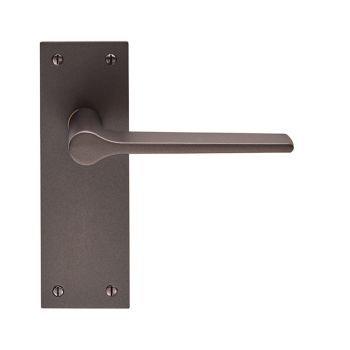 Velino EUL022 Matt Bronze Lever Latch Door Handles