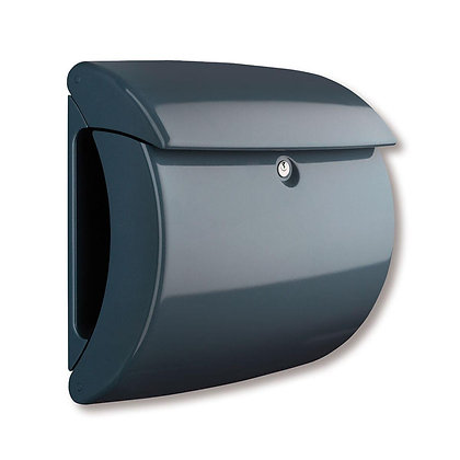 BURG WACHTER Piano Plastic Post Box - Granite