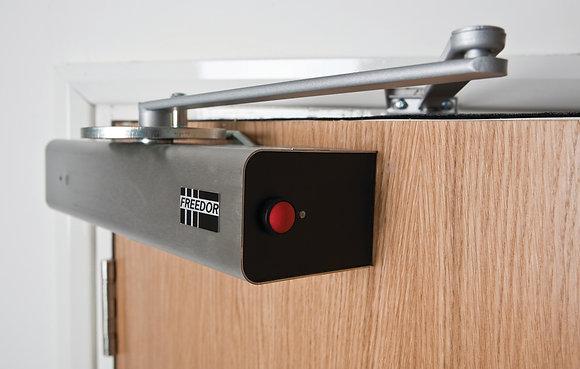 Freedor Wireless Hold Open Free-Swing Door Closer