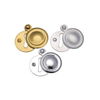 Heritage Brass V1020 Round Covered Escutcheon