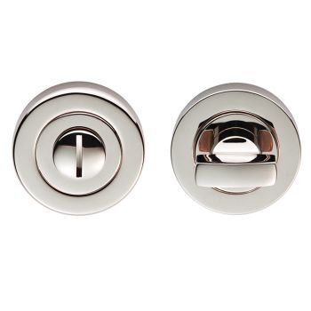 Carlisle Brass EUL004 Polished Nickel Bathroom Turn & Release