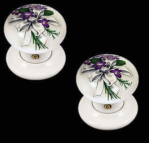 SWEET VIOLETS DESIGN PORCELAIN FURNITURE AND ACCESSORIES BY CHATSWORTH