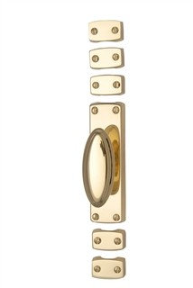 C1688 POLISHED BRASS ESPAGNOLETTE BOLT BY HERITAGE BRASS
