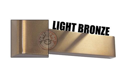 Rutland TS.9205 Light Bronze Radius Cover For Overhead Door Closer | Halesowen