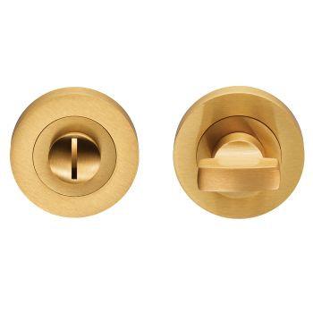 Carlisle Brass EUL004 Satin Brass Bathroom Turn & Release