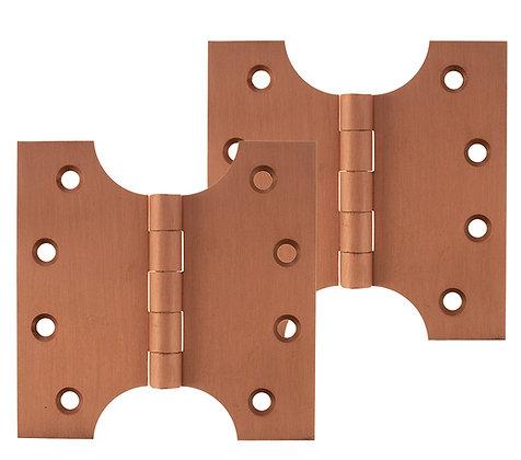 4 x 2 x 4 Inch Urban Satin Copper Atlantic UK Parliament Hinges - APH424USC