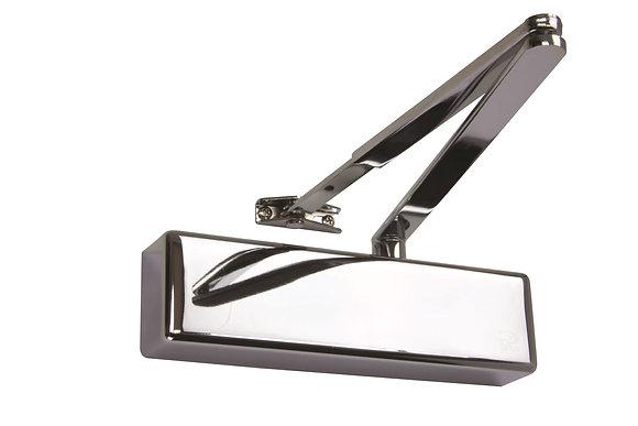 Rutland TS.4204 Size 2-4 Contract Overhead Door Closer Polished Nickel