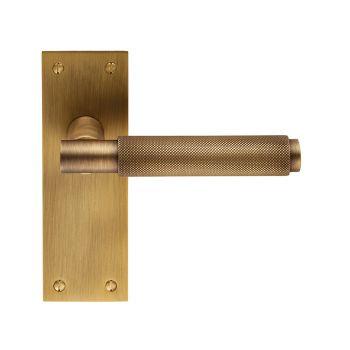 Varese EUL052 Antique Brass Lever Latch Door Handles