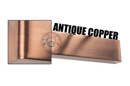 Rutland TS.9205 Antique Copper Radius Cover For Overhead Door Closer   Halesowen