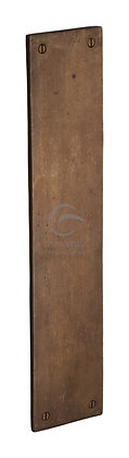 Heritage Brass Finger Plate RBL431 Solid Rustic Bronze