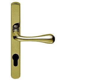 AQ1NP92 STELLA NARROW PLATE PVC DOOR HANDLES