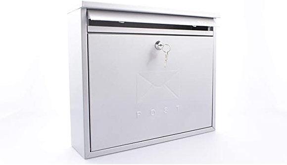 Burg Wachter Elegance Post Box Silver