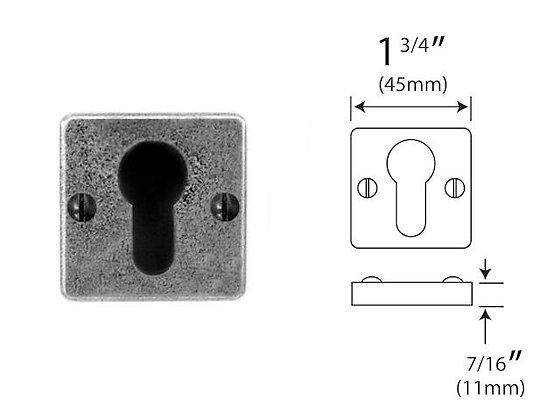 FD000C Euro Keyhole Escutcheon 'JESMOND' range