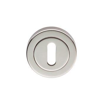 EUL002 Standard Key Polished Nickel Key Hole Escutcheon