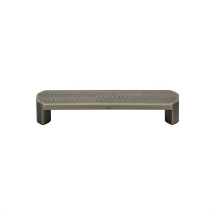 M Marcus VF088 Distressed Brass Canyon Cabinet Handle