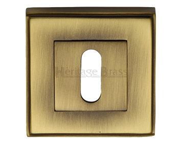 Heritage Brass 'Art Deco Standard' Key Escutcheon DEC7000