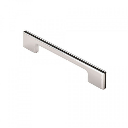 Carlisle Brass FTD529B Harris Pull Handle - Polished Chrome - 128mm