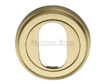 Heritage Brass V5010 Oval Escutcheon 48mm