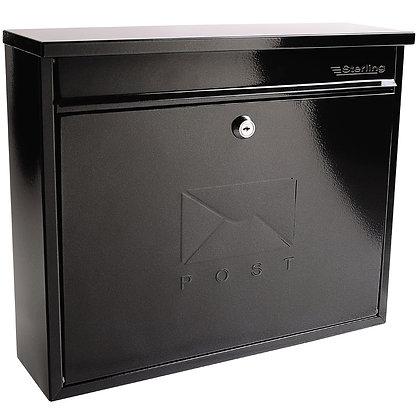 Burg Wachter Elegance Post Box Black