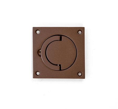 SCH.BRZ Bronze Squash Court Flush Pull Handle