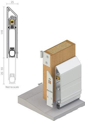RAVEN RP92Si Heavy Duty Automatic Door Bottom Seal