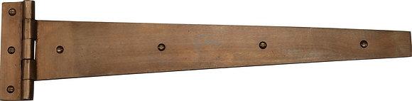 Heritage Brass RBL414 457mm Solid Rustic Bronze Door Tee Hinges