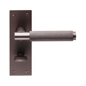 Varese EUL053 Matt Bronze Bathroom Door Handles