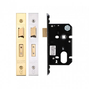 ZUKS76OP OVAL PROFILE MORTICE SASHLOCK CASE 76mm
