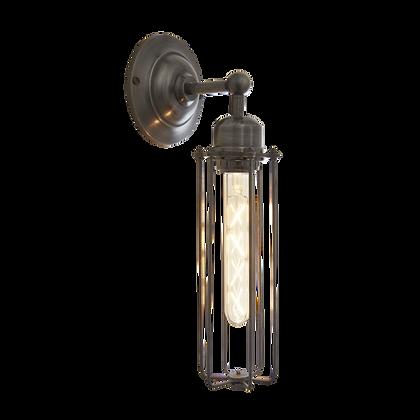 Orlando Cylinder - 3 Inch Pewter Wall Light
